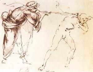Leonardo Da Vinci - Study 1478-80