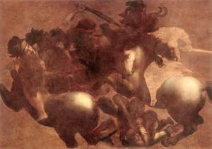 The Battle of Anghiari (detail 2) 1503-05