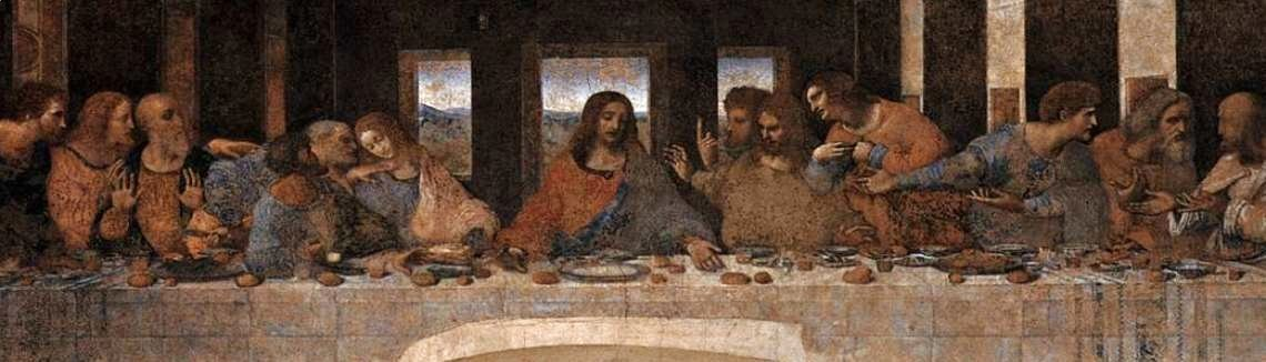 Leonardo Da Vinci - The Last Supper (2) 1498