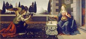 Leonardo Da Vinci - Annunciation (Annunciazione)