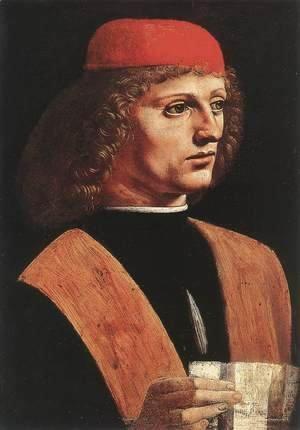 Leonardo Da Vinci - Portrait of a Musician (Ritratto di musico)