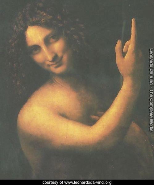 Leonardo Da Vinci - The Complete Works - St. John the ... Da Vinci Mona Lisa