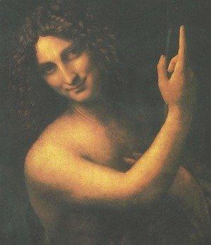 Leonardo Da Vinci - St. John the Baptist (San Giovanni Battista)